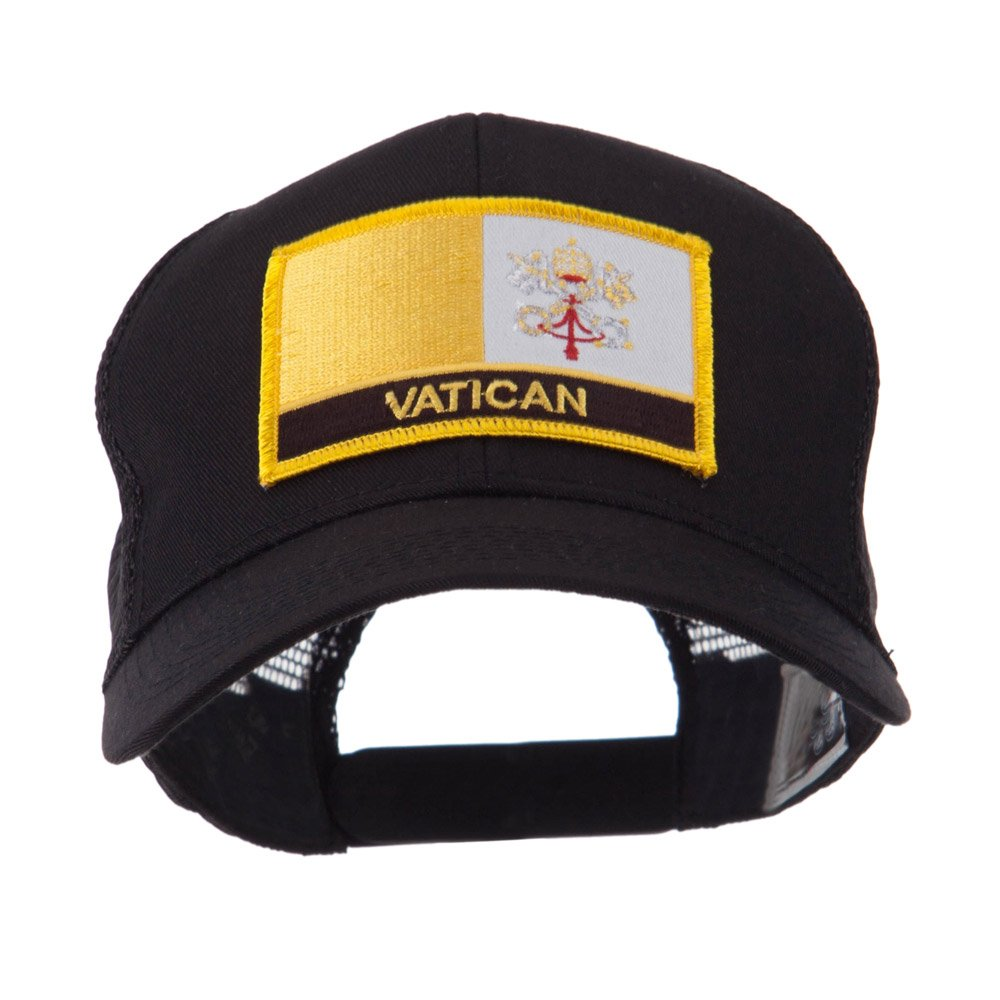 069866febfb Europe Flag Letter Patched Mesh Cap - Vatican OSFM at Amazon Men s Clothing  store  Baseball Caps