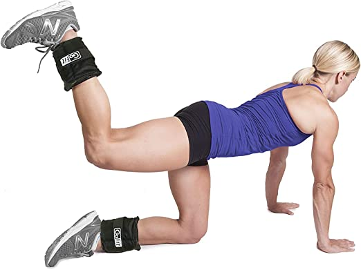 GoFit GF-5W Ankle Weights Adjusts from .5 Lb to 5 Lbs