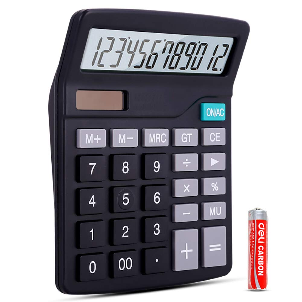 Electronic Calculator Dual-Power Solar and AA Batteries Ltd.