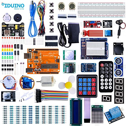 Uno Starter Kit For Arduino Projects Kits With USB Wires Breadboard Leds Ir Sensors 5V Relay Controller Board Servo Motor 64 Items Electrical Engineering Accessories