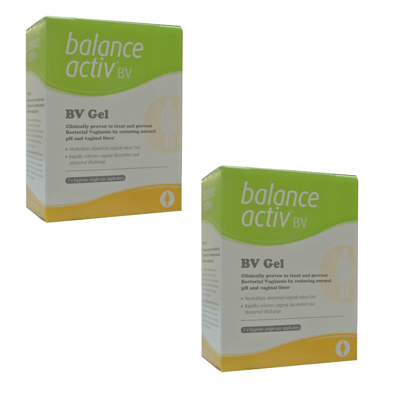 (2 PACK) - Balance Activ Lactic Acid Gel For Bacterial Vaginosis | 7 Applicator Applicators | 2 PACK - SUPER SAVER - SAVE MONEY