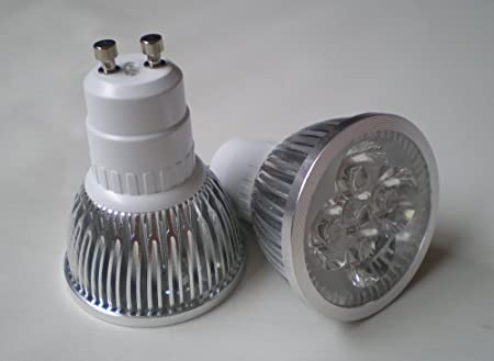 GU10 LED LIGHT BULB LOW ENERGY SAVING 4W WARM WHITE ** 4x1W HIGH POWER FOR & GU10 LED LIGHT BULB LOW ENERGY SAVING 4W WARM WHITE ** 4x1W HIGH ...