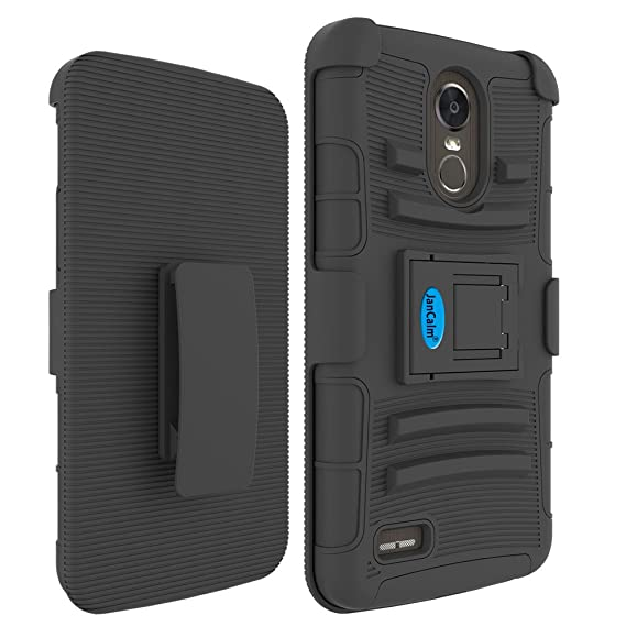 new concept 5ca86 ffcde LG Stylo 3 Holster Case, LG Stylo 3 Plus Belt Clip, JanCalm [Shock  Absorbing] [Hard Shell Cover] [Ultra Protective Heavy Duty Case] + Swivel  Belt Clip ...