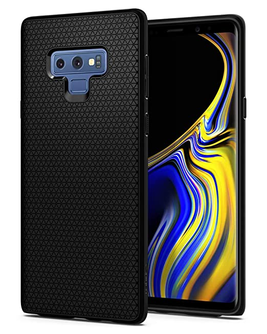 Spigen Liquid Air Armor Galaxy Note 9 Case With Durable Flex And Easy Grip Design For Samsung Galaxy Note 9 (2018)   Matte Black by Spigen