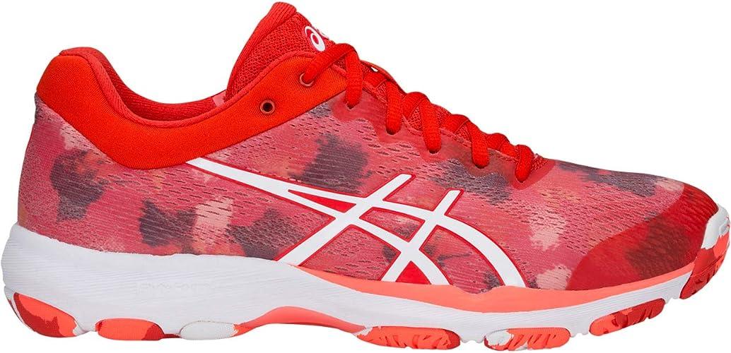 Desviación Para buscar refugio Gracia  ASICS Netburner Professional FF Women's Netball Shoes - 4.5 Red:  Amazon.co.uk: Shoes & Bags