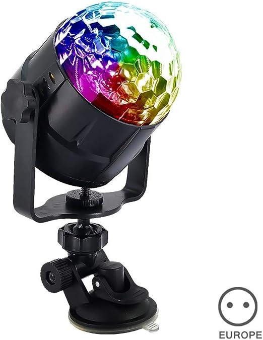iSunday 15 Color Mando a Distancia Pequeño Bola Mágica Luz ...