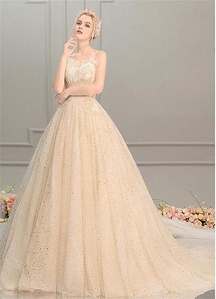 cab6055e6ec Amazon.com  ELEGENCE-Z Wedding Dress