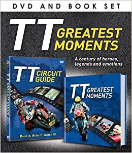 Book Greatest Moments of TT (DVD/Book Gift Set) (Portrait Dvdbook Gift Set)