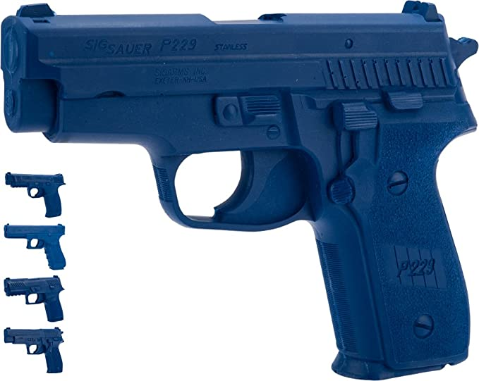 Evike Rings Manufacturing Blue Guns Inert Polymer Training Pistol - Beretta/SIG/Glock/HK/M&P