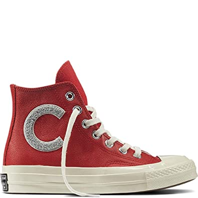 82af788b4bab Amazon.com | Converse Men's Chuck Taylor 70s Wordmark High Top Sneakers,  White/Mars Stone, 9 M US | Fashion Sneakers