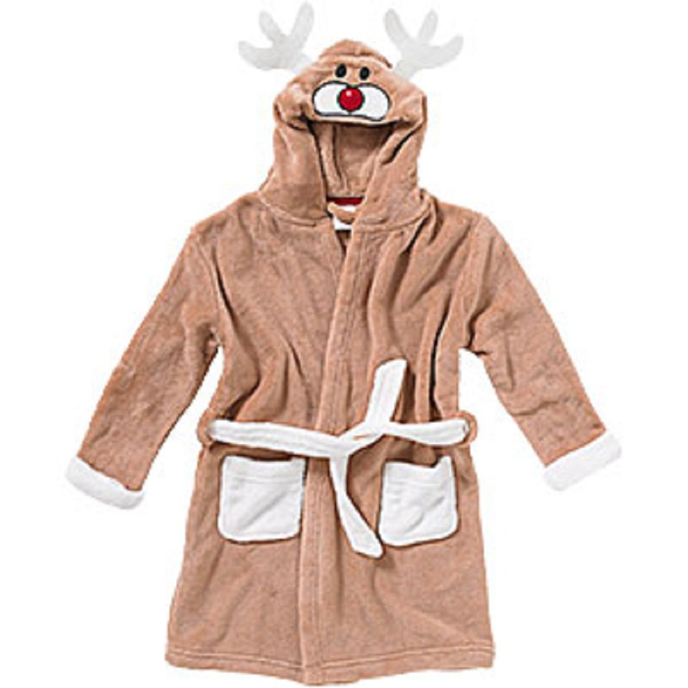 Boys Girls Kids Dressing Gowns Size Age 2 3 4 5 6 7 8 9 10 11 Years ...