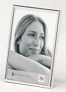 Hama Portrait Bilderrahmen Davos Fotogröße 15 x 20cm silber