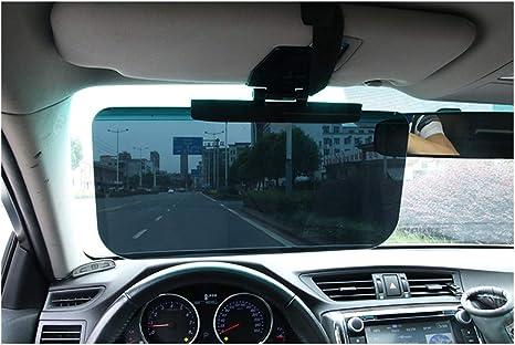 Amorar Auto Sonnenschutz Blendschutz Auto Sonnenblende Verlängerung Tag Fahren Sonnenblende Fahren Hd Visier Goggles Sport Freizeit