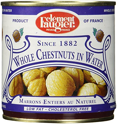 Low Ricotta Fat (Clement Faugier Whole Chestnuts in Water - Low Fat, Cholesterol Free (3 PACK))