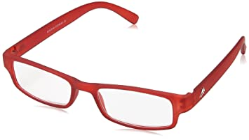 850a2c44d30 Montana MR91D Strength Plus 2.5 Red Reading Glasses  Amazon.co.uk ...