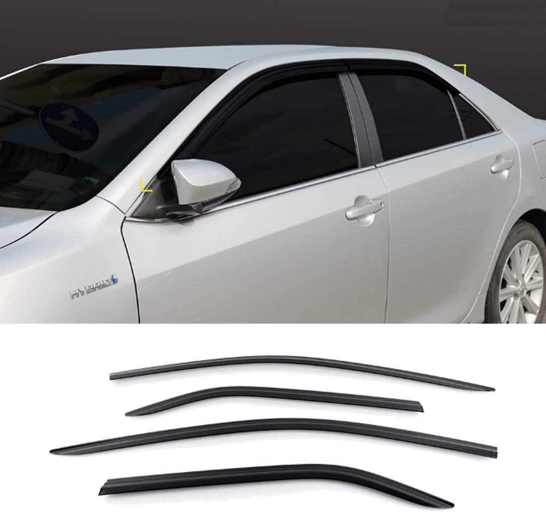 New Smoked Door Visor D952 for Toyota Camry 2012-2014 Weather Shield Windown Visor