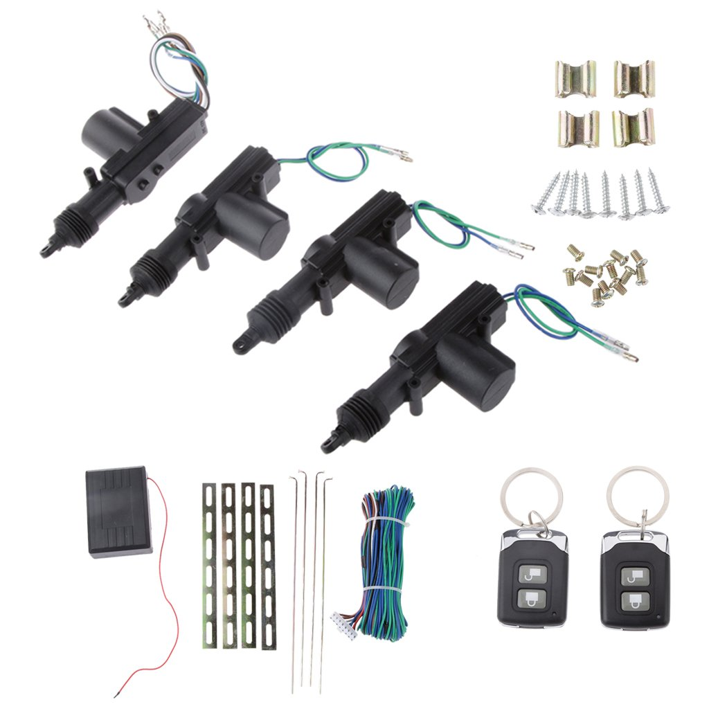 Alarm Security Lock Remote Keyless Entry Central Locking Kit Alarm