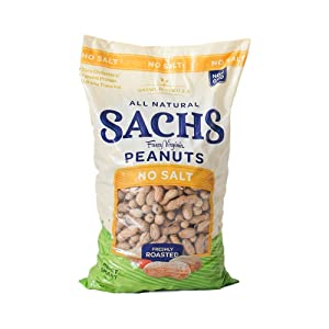 Sachs Unsalted In-Shell Peanuts, 80 Ounce