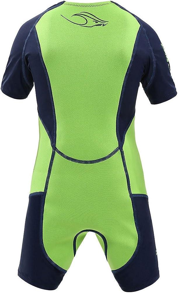 Aqua Sphere Stingray Core Warmer Short Sleeve Kids Spring Wetsuit