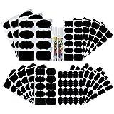 Etiquetas de pizarra 120 piezas reutilizables de pizarra con ...