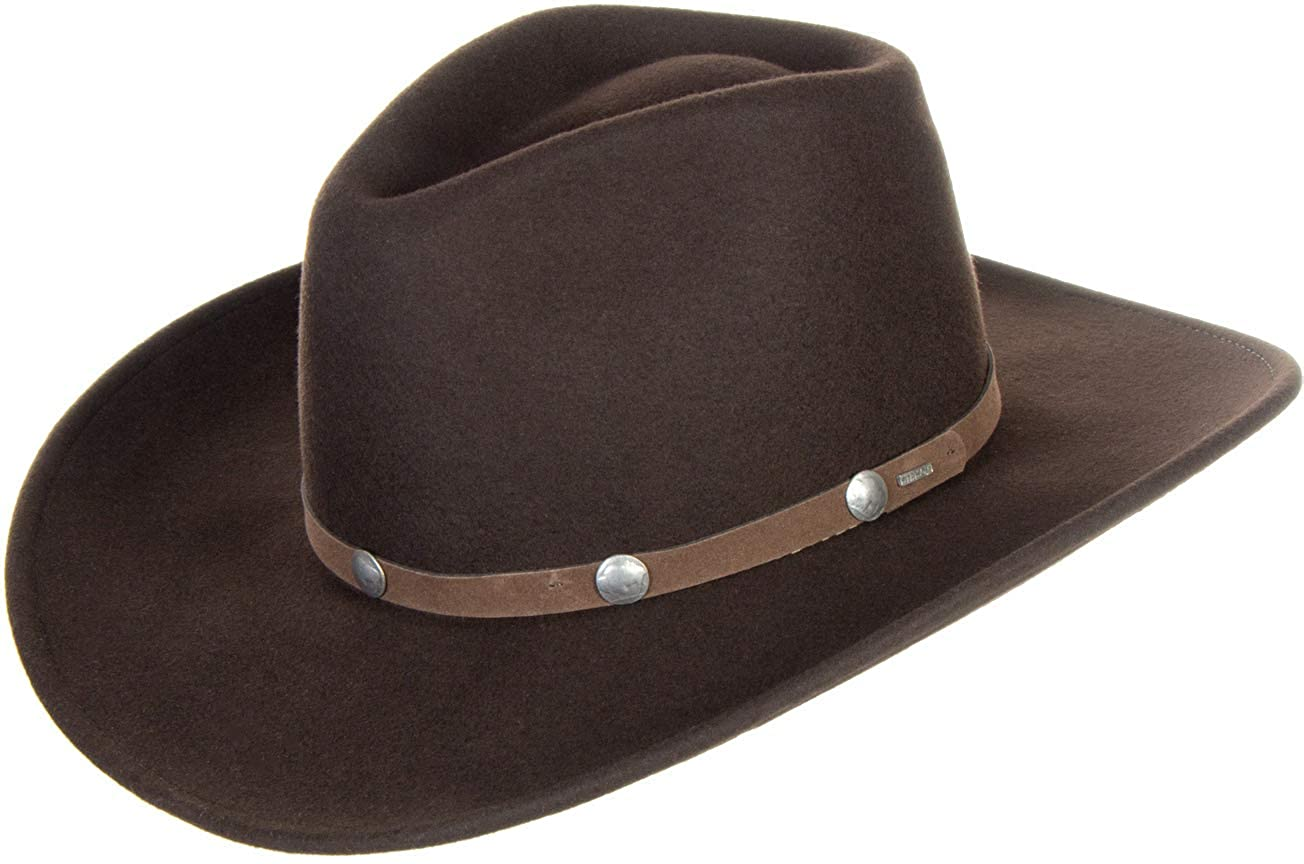 880b760da76 Stetson Tahoe Crushable Wool Hat at Amazon Women s Clothing store