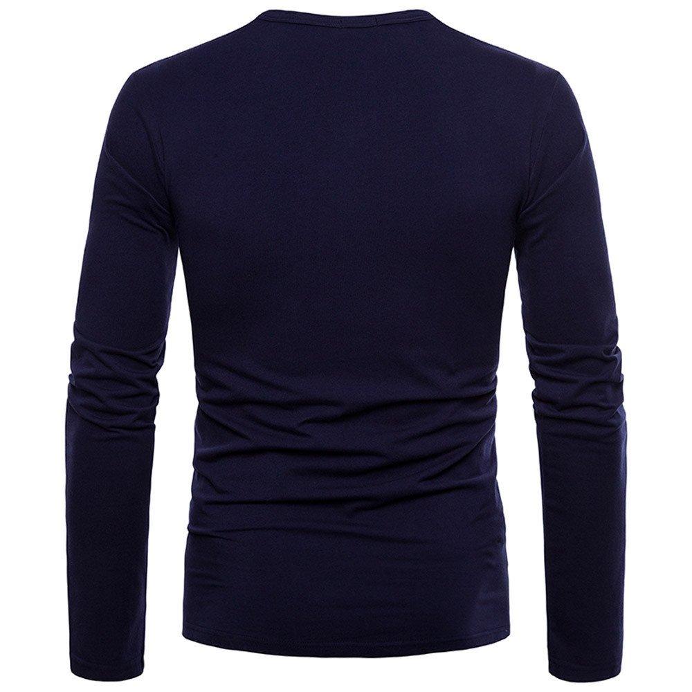 Kinlene Camiseta de Manga Larga para Hombre, Tallas Grandes de Hombres Chico Niños Camiseta de Manga Corta Blusas Tops Polos Camisas Blusa: Amazon.es: Ropa ...