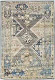 Premium Heavy-Duty Thick Traditional Area Rugs Blue Beige Navy Brown Cream Oriental Rug Distressed Vintage Carpet For Living Rooms on Clearance (Large 8'x11′) Review
