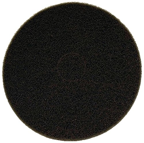 Lit Freud DCP120WHTM01G Non-Woven Black Buffer Pad, 17'' by Lit Freud