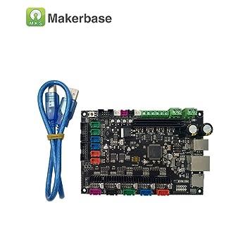 MKS sbase-2000 32bit Reprap Impresora 3D Control: Amazon.es ...