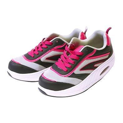 Fitness Step Grey/Pink (36): Amazon.es: Zapatos y complementos