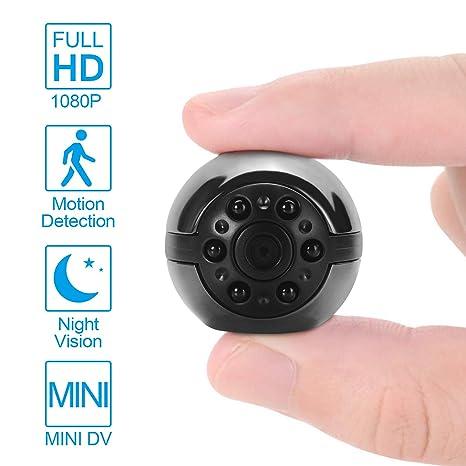 Mini camara espia vision nocturna infrarrojo 1080p full hd