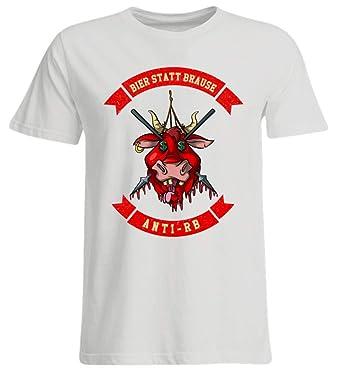 Anti Rb T Shirt Bier Statt Brause Fussball Shirt Gegen Kommerz