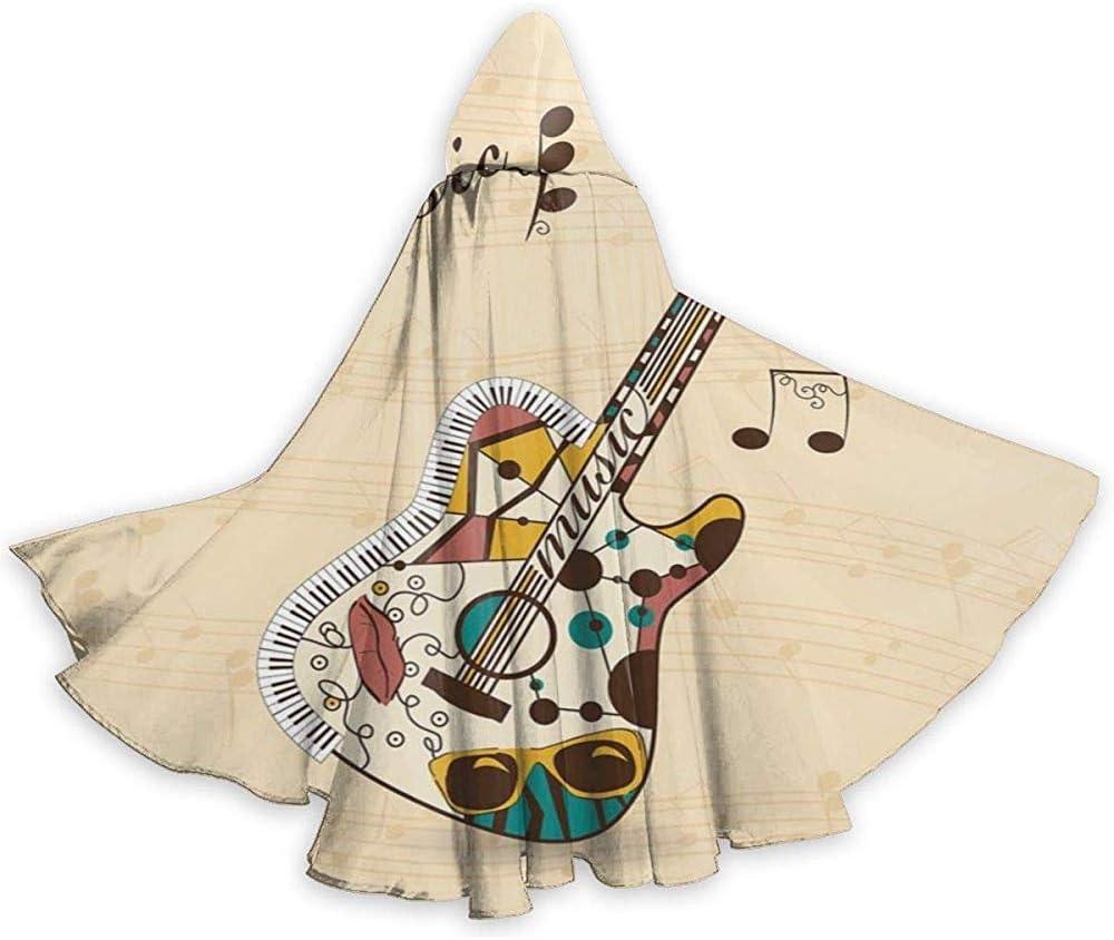 Rexing Capa para Adultos Capa Abstracta Funky Guitarra Notas ...