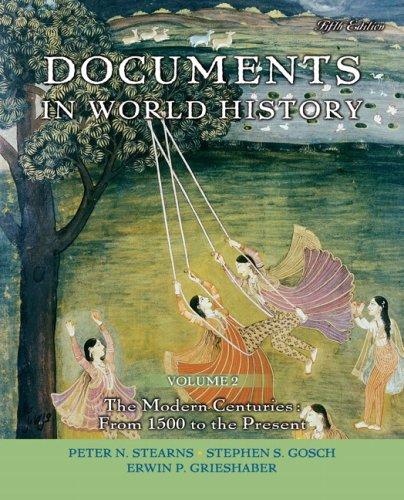 Documents In World History,V.2