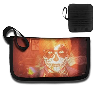 Glowing Bone Boy Travel Passport & Document Organizer Zipper Case