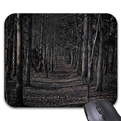 Amazon com : Creepy Forest Mouse Pad -Stylish Office
