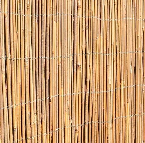 Cierre de caña de bambú, de 4 x 2 m: Amazon.es: Bricolaje y ...