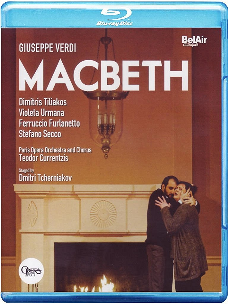 Dimitris Tiliakos - MacBeth (Blu-ray)