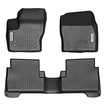 Yitamotor Car Floor Mats Compatible For 2015 2019 Ford Escape Front
