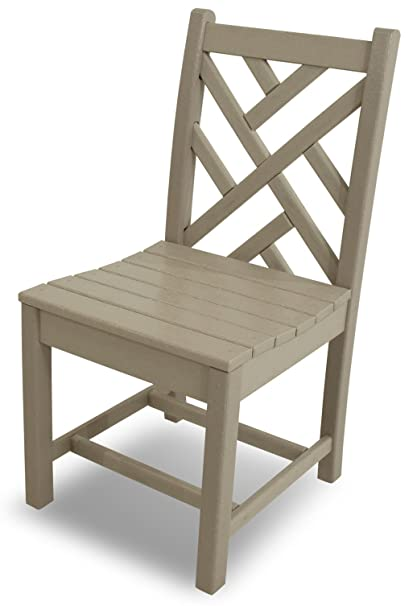 Amazon.com: polywood Chippendale Side silla de comedor ...