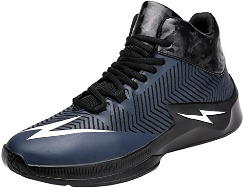 7443d8ca7cf SINOES Men and Women Basketball Shoes Fashion Sneaker Breathable Outdoor Sports  Shoes High-Top Athletic Running Shoes Jogging Trainers Boots Non-Slip Lace  ...