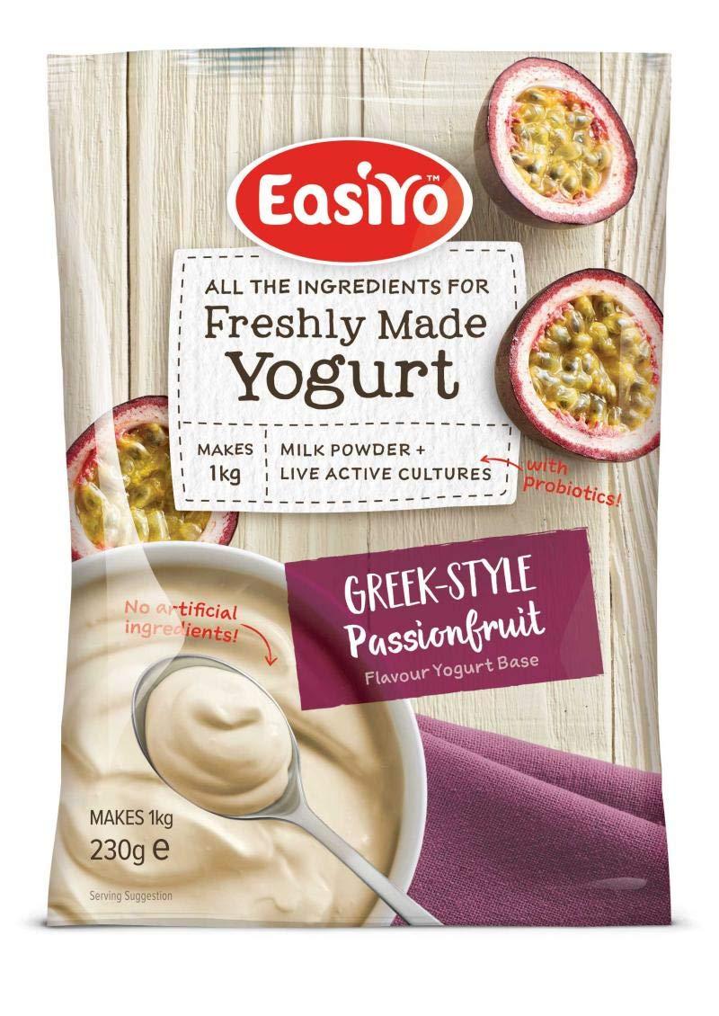 Easiyo Greek & Passionfruit Premium Yoghurt Mix 230g