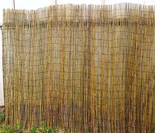 Master Garden Products Woven Bamboo Rolled Fence 8'L x 6'H by Master Garden Products