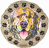 Spoontiques Golden Retriever Stepping Stone