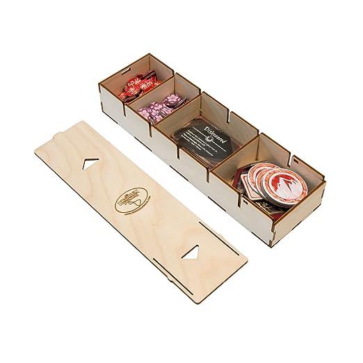 Amazon.com: La Token rota caja organizador para Living ...