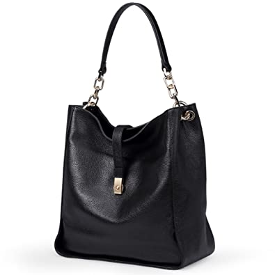 ee1faad80c4 Genuine Leather Shoulder Handbags for Women Full-grain Cowhide Supple  Top-handle