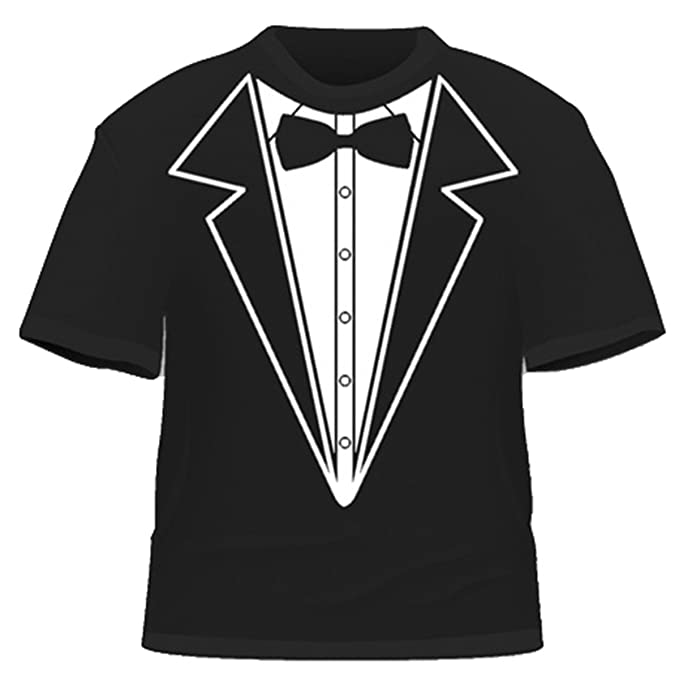 Camiseta de Smoking/Traje