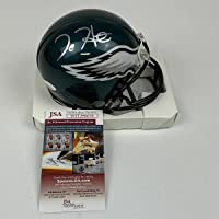 $134 » Autographed/Signed Jalen Hurts Philadelphia Eagles Mini Football Helmet JSA COA