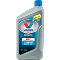 Valvoline 20W-50 VR1 1qt Racing Motor Oil (Case of 6)