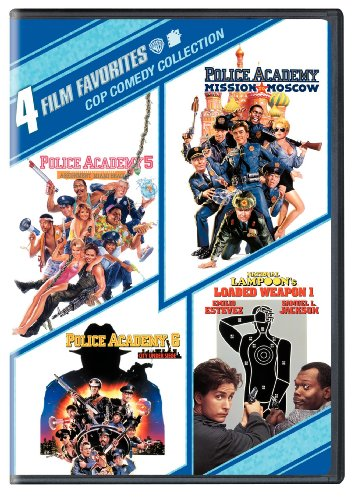 4 Film Favorites: Cop Comedies (National Lampoon's Loaded Weapon, Police Academy 5, Police Academy 6, Police Academy 7)